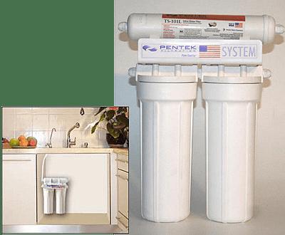 מערכת טהור מים Pentek 2+1